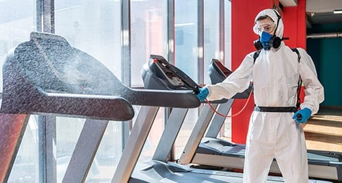 COVID cleaning services for gyms, fitness facilities and studios