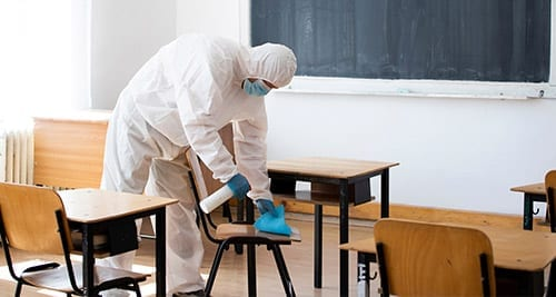 COVID cleaning services for schools and universities